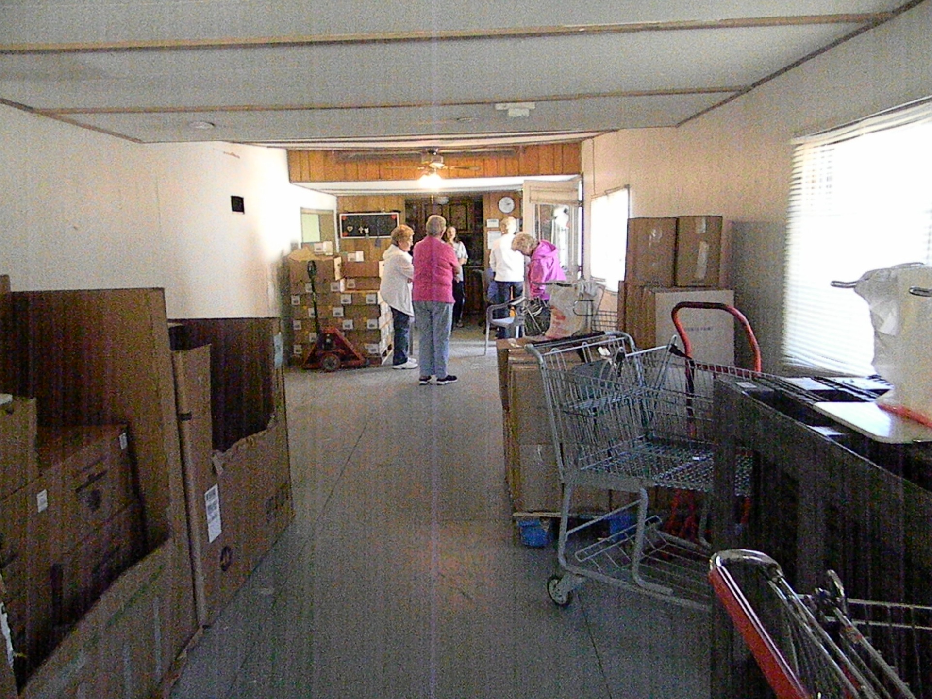 Inside of Old Food Pantry