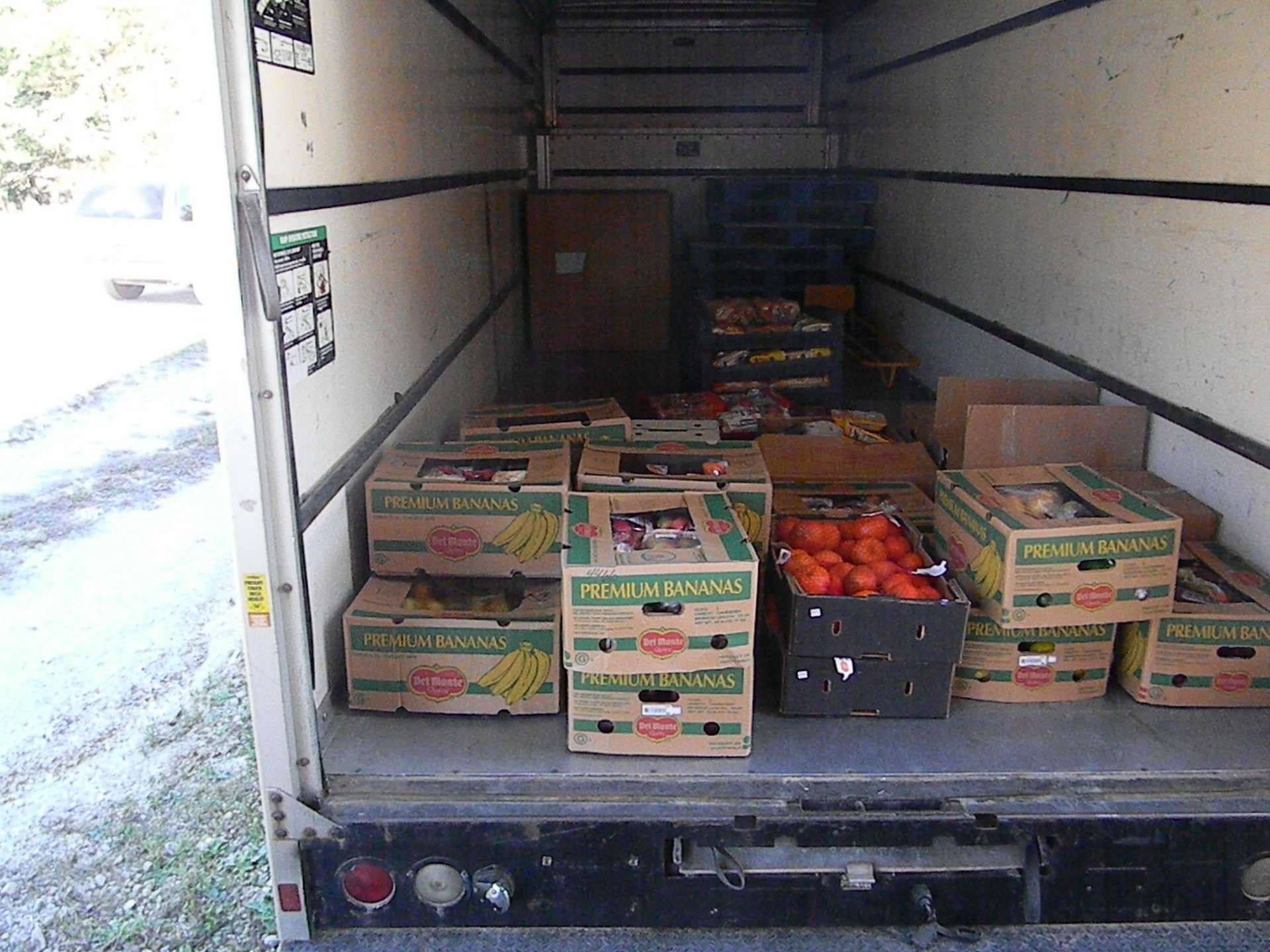 Food Donated By Walmart